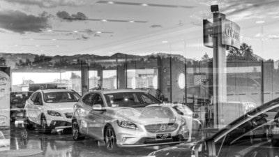 Vetrina vendita Volvo